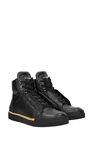 EU HA310Z028 Schwarz Pierre Balmain Herren Sneakers Leder 0fz1X