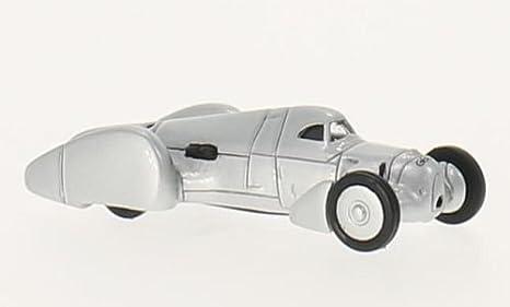Amazon com: car Union typ B Lucca, silver, 1935, Model Car
