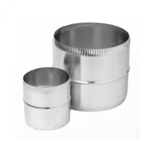 Coupler for Direct Vent Fireplaces Length: Combination Pack - 5 inches and 8 inches