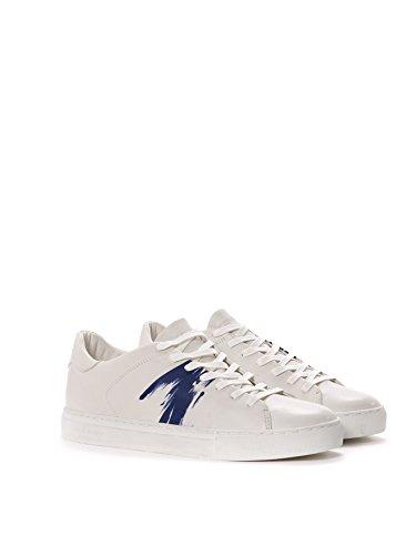 Crime London Sneakers Uomo 1126040 Pelle Bianco/Blu