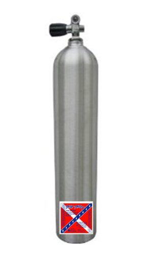 Catalina Brushed Aluminum 40 cf Scuba Cylinder 3000 psi Tec (Cf Pony Bottle)