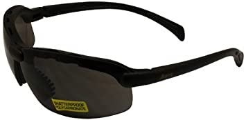 Global Vision C-2 Safety Shop Glasses Black Frame//Clear Lens