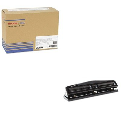 KITRIC407018UNV74323 - Value Kit - Ricoh 406662 Photoconductor Unit (RIC407018) and Universal 12-Sheet Deluxe Two- and Three-Hole Adjustable Punch (UNV74323)