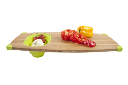 Corner-Grip Over-the-Sink Cutting Board