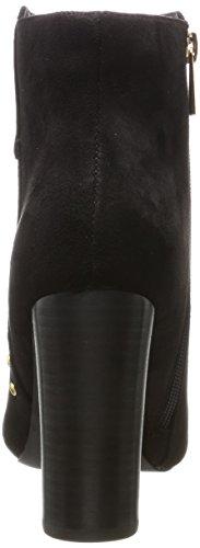Buffalo Dames Rk 1607-049-s Imi Suède Laarzen Zwart (zwarte 01)