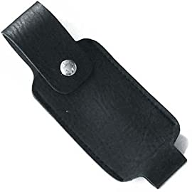 Leatherette Holster for 4 OZ Pepper Sprays 1 Leatherette holster Snap closure