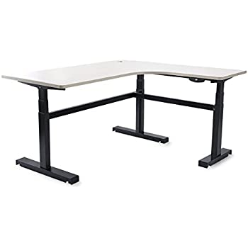 Brilliant Amazon Com Outo Electric Lifting Desk The L Shaped Wireless Download Free Architecture Designs Licukmadebymaigaardcom