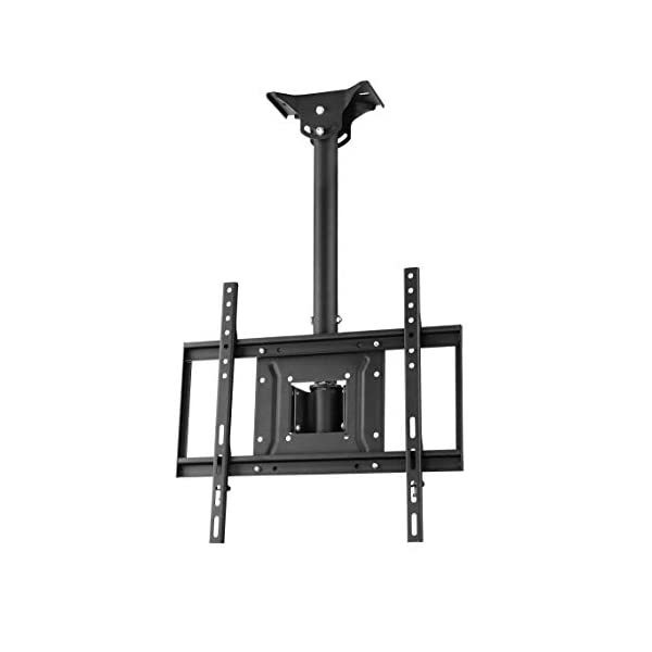 """Apollo Outdoor TV Enclosure for 46-50"""" LED/LCD Televisions with Weatherproof Adjustable Height Ceiling Mount in Black 3"""