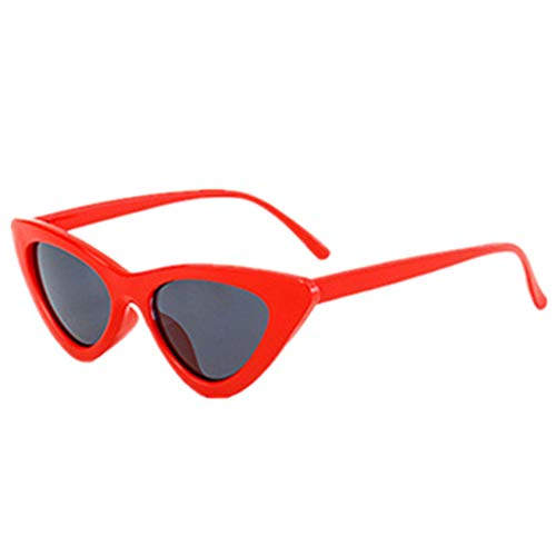 (FORUU Glasses, Women Fashion Cat Eye Shades Sunglasses Integrated UV Candy Colored 2019 Summer Newest Arrival On Sale Beach Holiday Party Funny Best Gifts For Husband Under 5 Dollars Free Delivery)