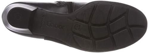 Schwarz Shoes Noir Basic 27 Botines Femme Gabor XFqPq