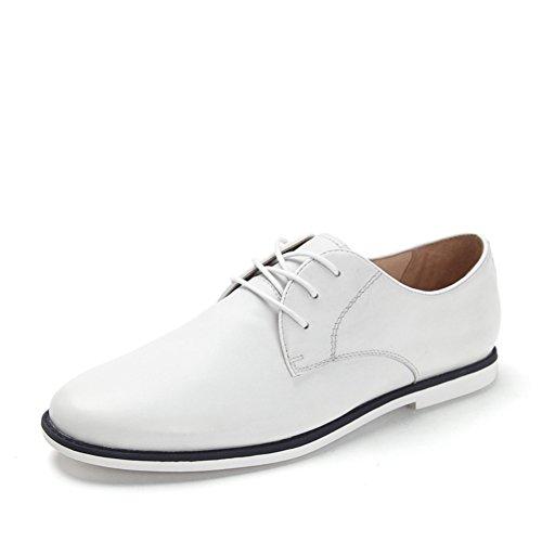 Zapatos de lazo de cabeza de verano/Zapatos ocasionales de los hombres blanco