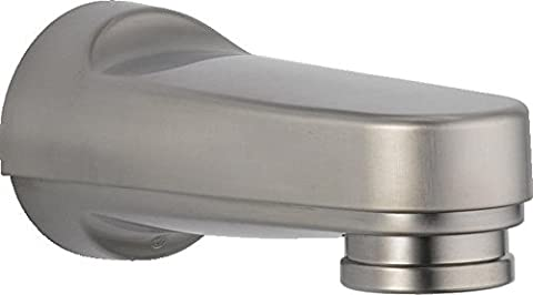 Delta Faucet RP17453SS Tub Spout for Pull-Down Diverter, Stainless (Pulldown Faucet Delta)