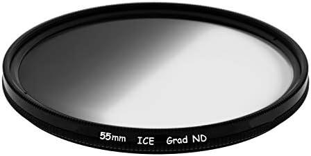 ICE 55mm GND8 ソフトグラッド ND8 フィルター ニュートラルデンシティ ND 3ストップ光学ガラス 55