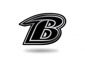 ravens auto emblem - 1