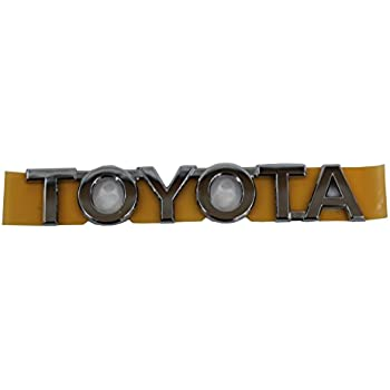 Toyota Genuine 75427-48020 Door Nameplate