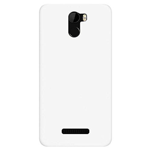 BLU VIVO 8L (5.3) Case, ZLDECO Ultra Slim Shock Proof Matte Hard Skin Case Cover Protect for Blu Vivo 8L Smartphone (White)
