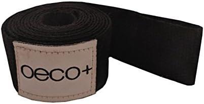 Oeco Plus Yoga Mat Sling, Algodón orgánico y Cáñamo, Ajustable, 2 en 1 Yoga Mat Carrier, ecológico (Negro): Amazon.es: Deportes y aire libre