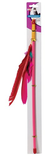 feather dangler cat toy a