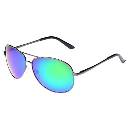 CUSHAPE ASG800033C6 UV400 TAC Lens Metal Metal Frames - Glasses Prescriptions Mail Order