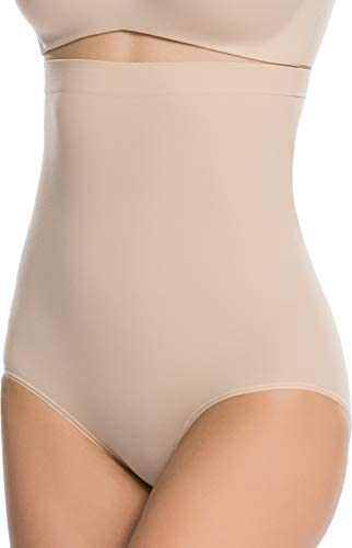 SPANX Shapewear for Women, High-Waisted Tummy Control Higher Power Panties (Regular and Plus Sizes)