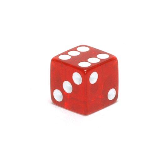 【ギフト】 Red Transparent Square B008LUC9UU Square 16mm d6 Red 200ea B008LUC9UU, 赤村:17c9c098 --- cliente.opweb0005.servidorwebfacil.com