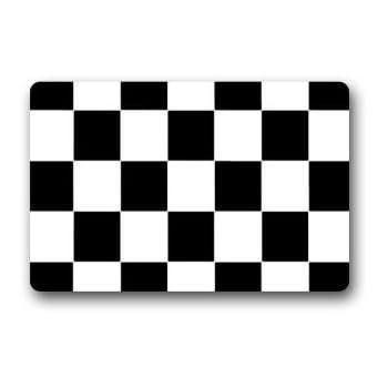 Amazon Com Poppylife Checker Cross Squares Black Amp White