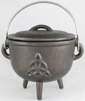 Cast Iron Cauldron: 4 1/2