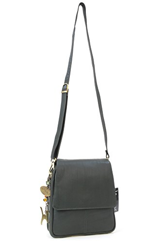 Collection Sac type Catwalk Vert cuir besace