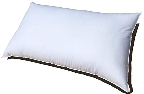 20x26 Inch Pillowflex Premium Polyester Filled Pillow Form Insert - Machine Washable - Oblong Rectangle Standard - Made In USA