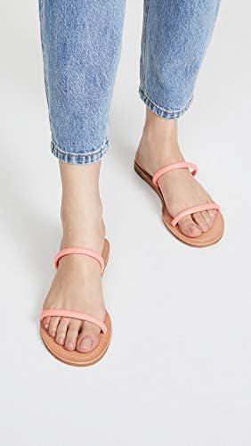 Dolce Vita Women\'s Darla Slides, Coral, Pink, 6.5 Medium US