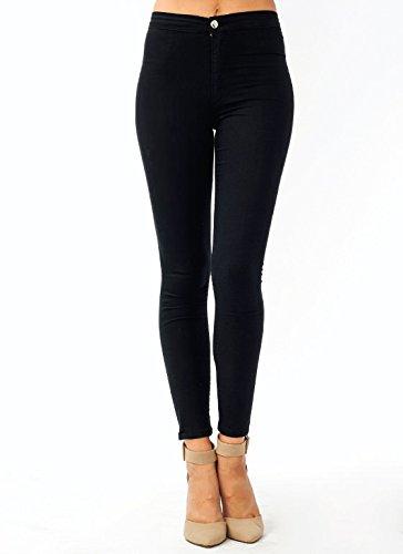High-Waisted Ankle Length Jeans