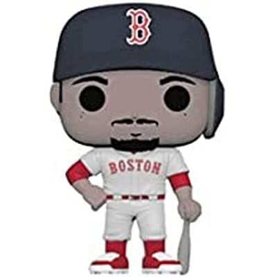 Funko POP! MLB: Mookie Betts (Road): Toys & Games