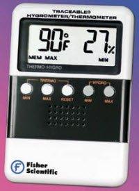 6015367 Hygrometer W/readout/mem EA Fisher Scientific Co. -1166113