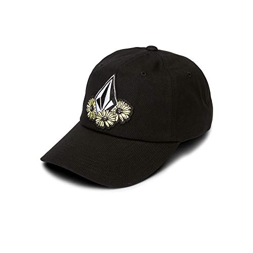 Volcom Junior's Splat Dat Dad Hat, Black, One Size Fits All