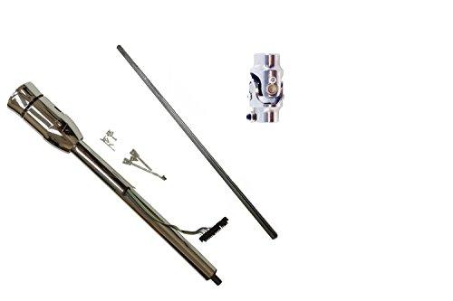 Hot Rod Chrome Tilt Manual Steering Column 32