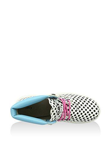 Cat Footwear Colorado Spy - Botas Track Mujer Blanco / Azul Claro