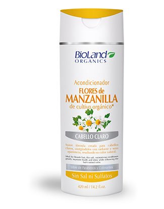 Amazon.com : Organic Chamomile Conditioner 14.2 fl. oz. | Acondicionador Manzanilla Orgánica 420 ml : Beauty