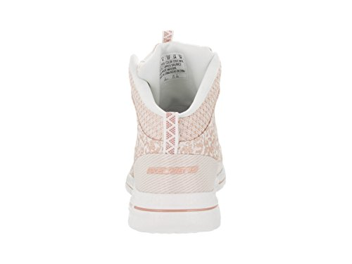 Skechers Womens Burst 2.0 - Fashion Forward Casual Shoe White/Pink