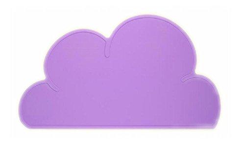 [Da.Wa Baby Place Mats Non Slip Heat Resistance Purple] (Wa Mat)