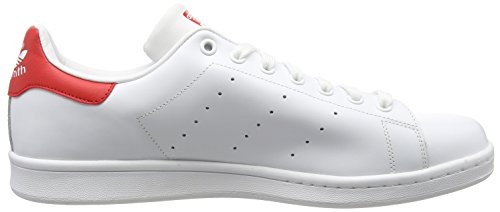 Ftw Sneaker Collegiate adidas Red Stan Bianco Ftw White Running White Donna Running Smith 0PEwq4P