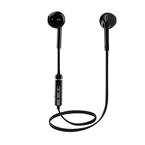 Wireless Earphones Earbuds, Ausein Bluetooth Headphones V4.1 Stereo Noise Cancelling Sweatproof Sports Running Headset with Mic for iPhone X 8 7 Plus 6s Samsung Galaxy S7 S8 and Android