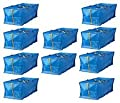 IKEA 10 X Large Blue Frakta Trunk for trolley Laundry Bag by bag