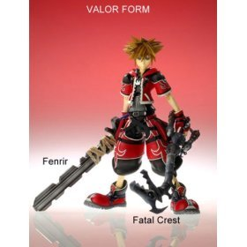 (Kingdom Hearts 2 Sora Valor Form Special Edition Action)