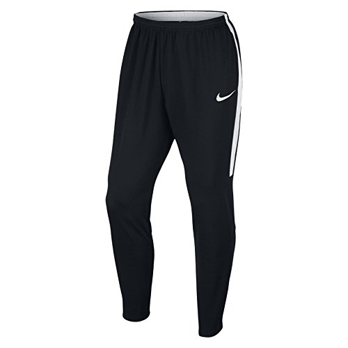 Nike Men's Dry Football Soccer Training Pants (Medium) Black, White
