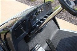(Steering Column Cover, Stainless Steel, Club Car)