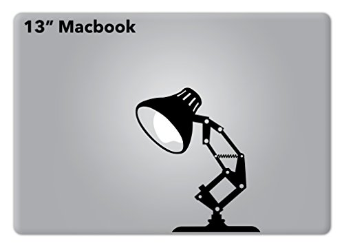 Pixar Lamp Disney Apple Macbook Laptop Vinyl Decal Sticker