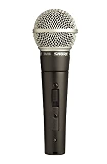 Shure SM58S Vocal Microphone (with On/Off Switch) (B0000AQRSU) | Amazon Products