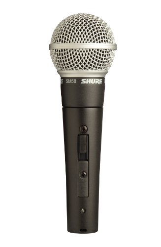 (Shure SM58S Vocal Microphone (with On Off Switch))
