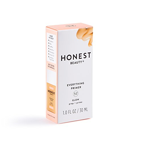 Honest Beauty Everything Primer, Glow with Hyaluronic Acid | Paraben Free, Dermatologist Tested, Cruelty Free | 1.0 fl. oz.