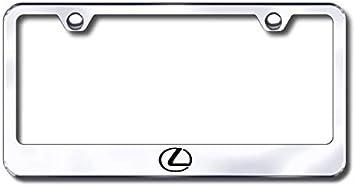 Lexus Black Steel License Frame